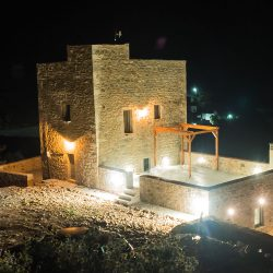 Night view of the Tower