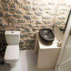 Tower suite: bathroom